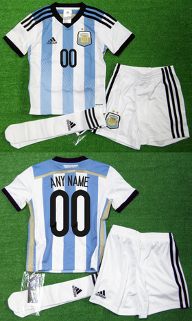 アルゼンチン代表 ネーム&ナンバー無料