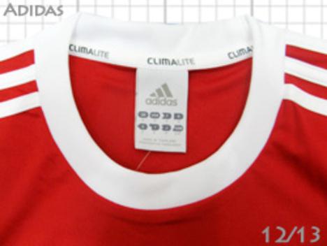 adidas チーム用ユニフォーム・TEAM12 赤【在庫の限り】