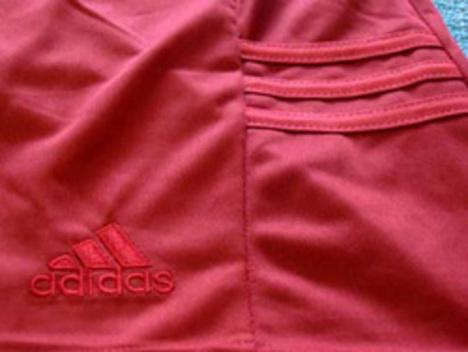 【在庫限り】 adidas ゲームパンツ・ステア 赤 1000円+税 【大人サイズ】