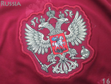 16 ロシア代表 ホーム