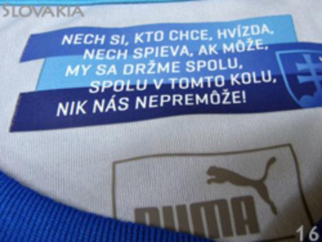 スロバキア代表 アウェ