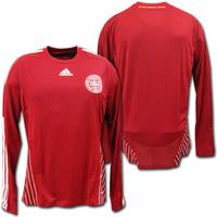 デンマーク代表 ホーム 選手用 長袖