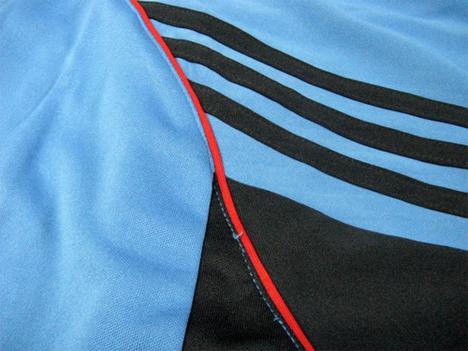 【在庫限り】 adidas チーム用ユニフォーム・エルニーニョ 水色 【¥999+税】