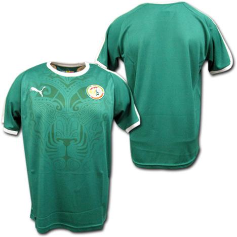 2018 W杯 セネガル代表 アウェイ(緑) PUMA