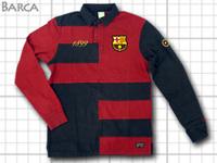 バルセロナ ラガーシャツ