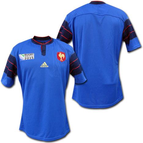 【ラグビー】 RWC2015 フランス代表 ホーム ジャージ adidas