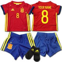 スペイン代表 ネーム&ナンバー無料