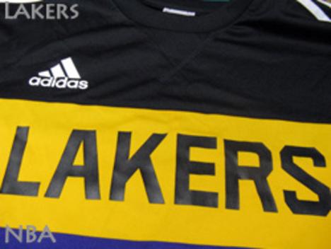 レイカーズ トレーニングシャツ