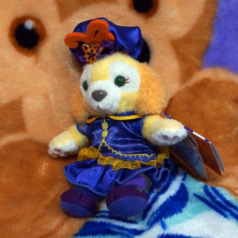 クッキー 【ハロウィーン2018】ぬいぐるみキーチェーン (ぬいばサイズ) 香港ディズニー限定