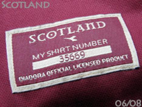 スコットランド代表 サード