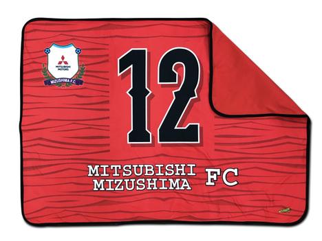 三菱水島FC フリース素材・ブランケット 1x0.7メートル 【2200円+税】