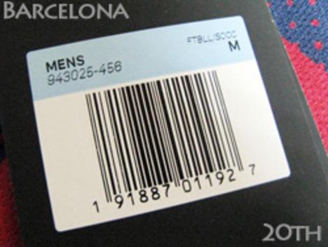 バルセロナ 記念モデル