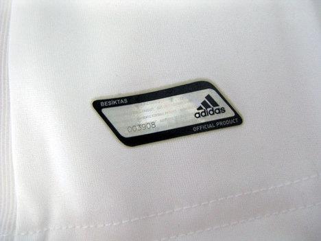 【日本未発売】 14/15 ベシクタシュ Home #9 デンバ・バ adidas