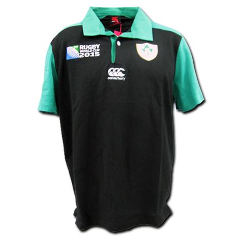 ラグビー・アイルランド代表・アウェイ クラシックジャージ ワールドカップ2015 CANTERBURY製