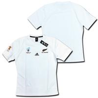 ラグビー・ニュージーランド代表・オールブラックス ラグビーワールドカップ2019 アウェイ(白) adidas