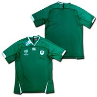 【ナンバー無料】 ラグビー・アイルランド代表 ラグビーワールドカップ2019 ホーム(緑) カンタベリー