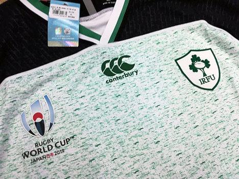 ラグビー・アイルランド代表 ラグビーワールドカップ2019 アウェイ(白) カンタベリー