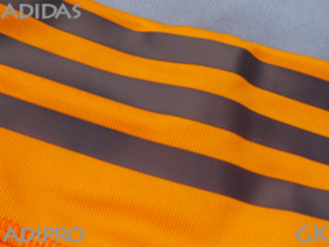 アディダス ADIPRO18 GKジャージー 半袖  (オレンジ)