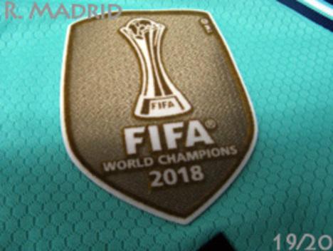 【CWC2018パッチ付】19/20 レアル・マドリード 3rd(エメラルド) #7 HAZARD アザール adidas