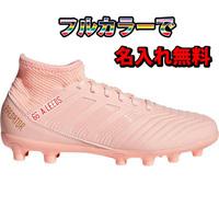 【名入れ無料】【50%OFF】 アディダス・プレデター 18.4HG/AGJ (ピンク)  固い土・人工芝用 adidas 【ジュニアサイズ】