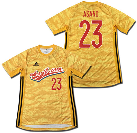 【定価:7689円】 ADIPRO 19 GKジャージー・長袖 (ゴールド) adidas
