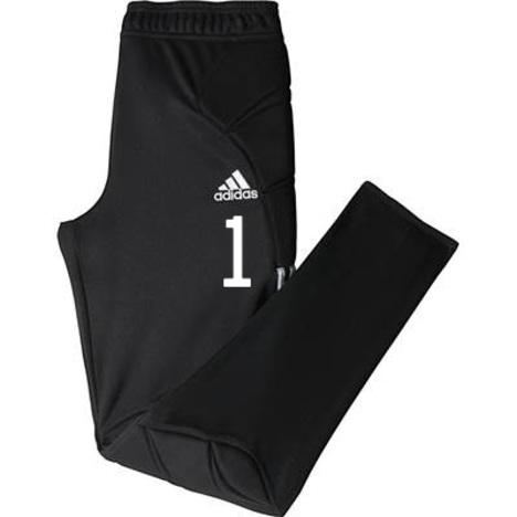 【50%割引】 TIERRO13 ゴールキーパー・ロングパンツ (黒) adidas