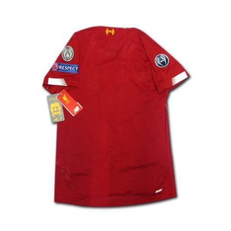 【CLフル+CWC】19/20 リバプール Home (赤) 女性用 CLチャンプパッチ+ビッグイアー6+RESPECT+CWC