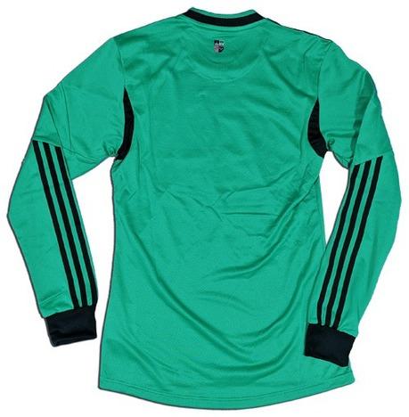 【送料無料】 13/15 シャルケ04・サード(緑) 選手用 Formotion仕様・長袖 adidas