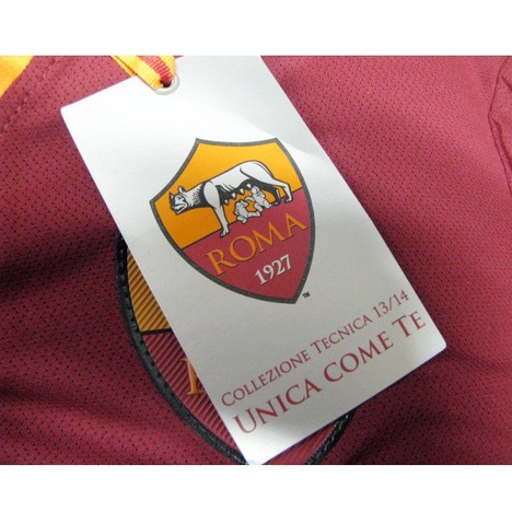 【限定1着】13/14 ASローマ ホーム (ワイン) #24 FLORENZI フロレンツィ【スポンサー加工無料】