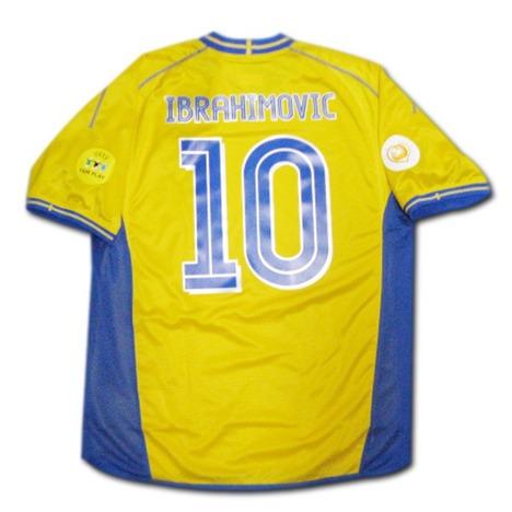 スウェーデン代表 イブラヒモビッチ