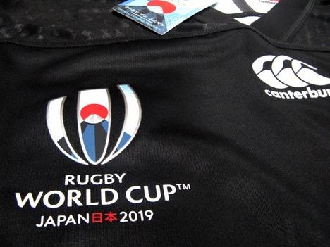 ラグビー・カナダ代表 ラグビーワールドカップ2019 アウェイ(黒) CANTERBURY