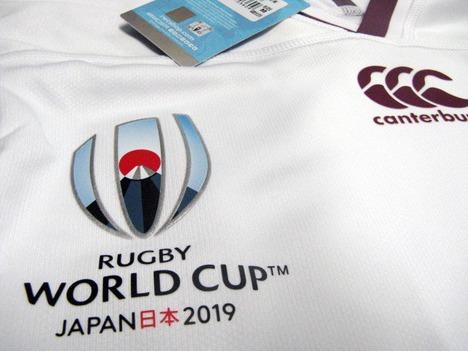 【ナンバー加工対応】ラグビー・ジョージア代表 ラグビーワールドカップ2019 アウェイ(白) CANTERBURY