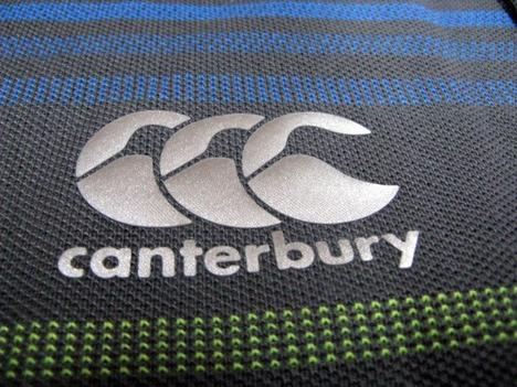 【限定1着】ラグビー・アイルランド代表 ジャガードポロシャツ(グレー) CANTERBURY