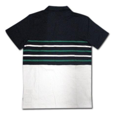 ラグビー・アイルランド代表 ボーダーポロシャツ(紺/白) CANTERBURY