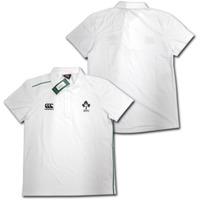 ラグビー・アイルランド代表 トレーニングポロシャツ(白) CANTERBURY
