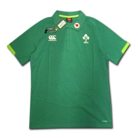 ラグビー・アイルランド代表 トレーニングポロシャツ(緑) CANTERBURY
