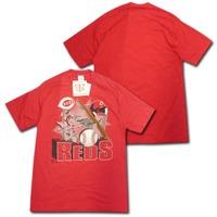 【USA製】 シンシナティ・レッズ・Tシャツ(赤) GTS 【送料無料】
