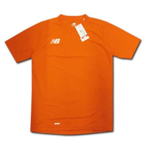 【チームオーダー対応】ニューバランス ゲームシャツ(オレンジ)  new balance