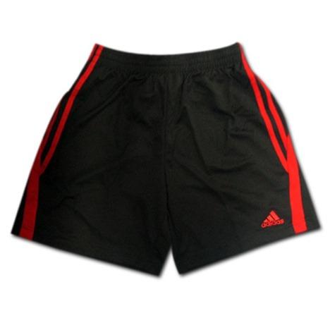 adidas ゲームショーツ(黒/赤) アディダス 【在庫の限り】