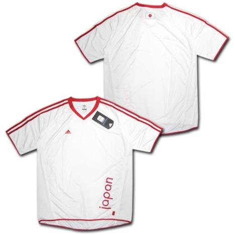 【ドイツW杯公式】adidas 日本代表・3ストライプシャツ アディダス 【在庫の限り】