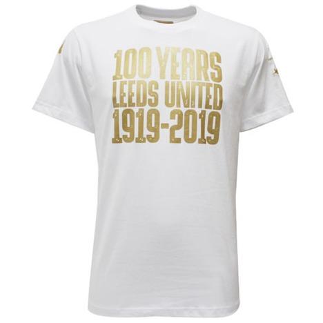 【100周年】 リーズユナイテッド・100周年シャツ・白 Kappa 【メール便送料無料】