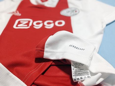 【全選手ネームナンバー無料】 21/22 アヤックス ホーム(赤白) adidas 【メール便送料無料】