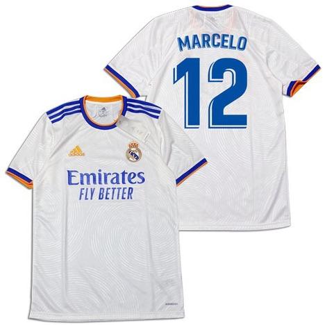 【ナンバー無料】 21/22 レアル・マドリード ホーム(白) adidas 【豪華おまけ付き】【メール便送料無料】
