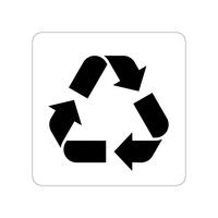 リサイクル品回収施設ステッカー