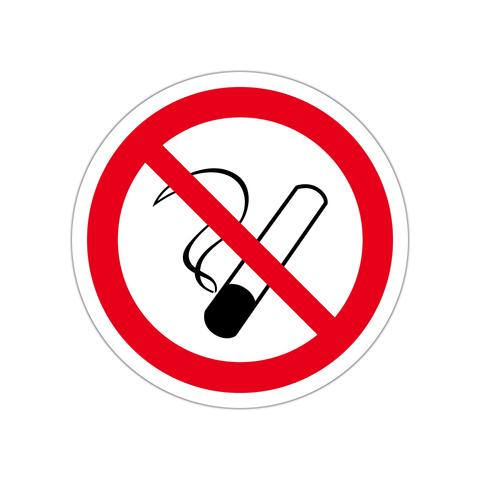 禁煙(指定)ステッカー