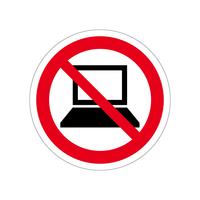 電子機器使用禁止