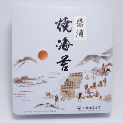 焼のり鼎浦10帖缶入
