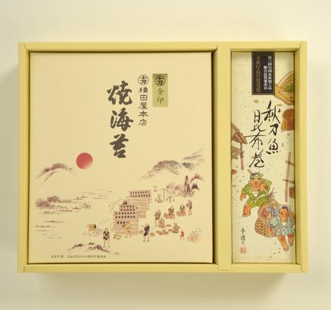 焼き海苔・昆布巻詰め合わせ【品番015】