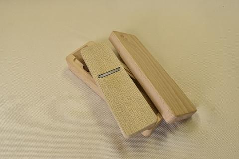 鰹節削り用鉋(カンナ) B型(大) 青紙×ブナ