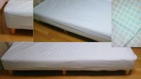 フラワーシャーベット ベットシーツ・シングルサイズ